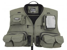 The classic fly fishing vest, as we...