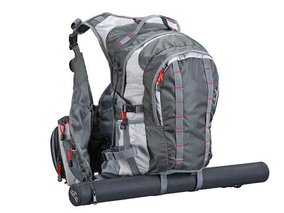 Vest hotfly EXPLORER V2 with integrated backpack