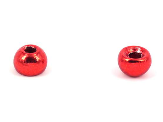 Tungsten beads - RED - 10 pc.