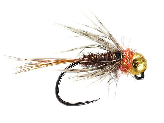 Orange Pheasant TG Jig BL