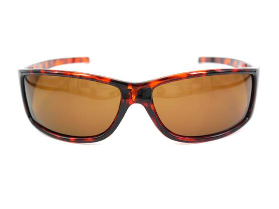 Polarized sunglasses FLY CLASSIC - brown