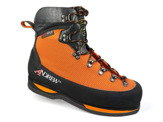 Wading boots andrew CREEK ORANGE - made in Italy