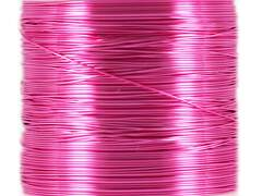 FINE METAL THREAD hotfly - 0,18 mm - 15 m - pink