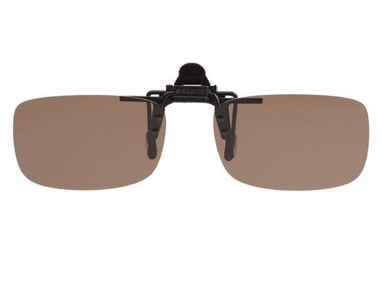Polarized Clip-on SOLANO V2 - brown