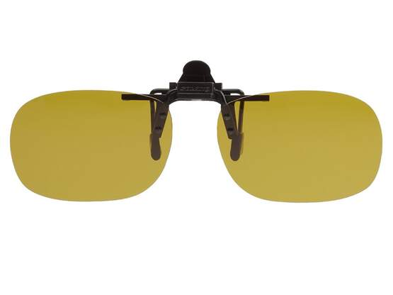 Polarized Clip-on SOLANO V3 - yellow