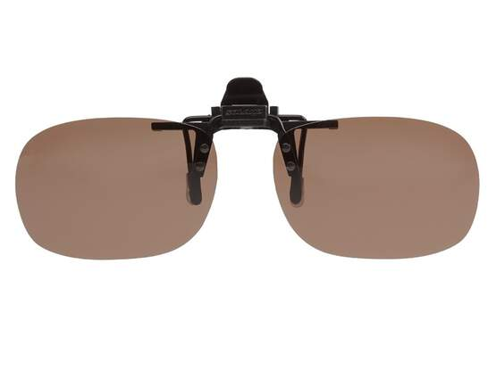 Polarized Clip-on SOLANO V3 - brown