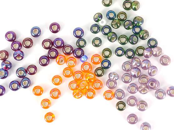 UV-RAINBOW GLASS BEADS hotfly - 2,6 mm