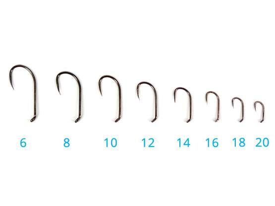 Hooks hends DRY 1x strong 354BL - 25 pc.