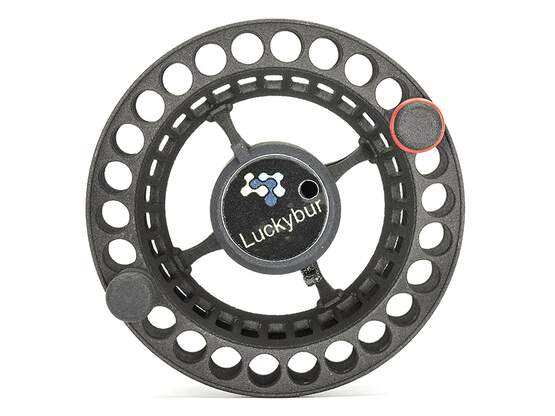 LARGE ARBOR COMPETITION SPOOL for fly reel Vivarelli Standard