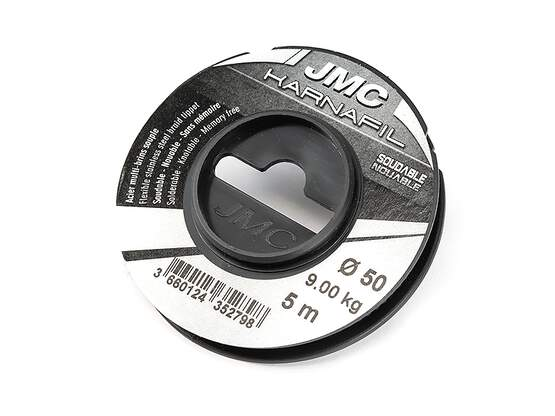 Black coated steel wire jmc KARNAFIL - 5 m