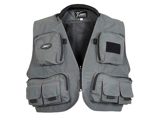 Fly fishing vest jmc DIPLOMAT V2 grey