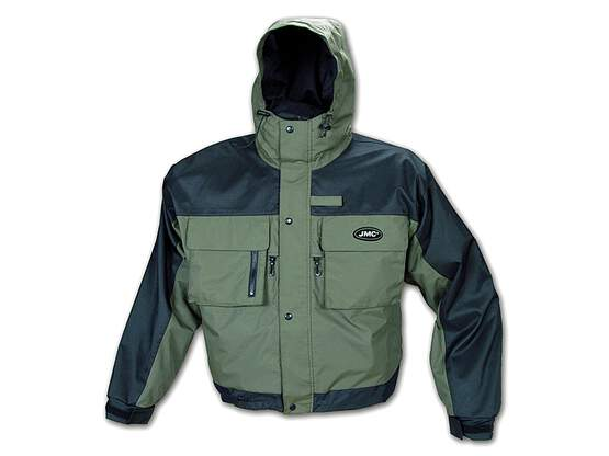 Water resistant fishing jacket jmc FORCE olive