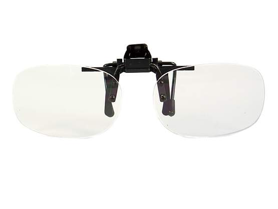 Clip-on lenses MAGNIFYING