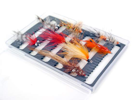 Set Sea trout flies V2 - 9 flies