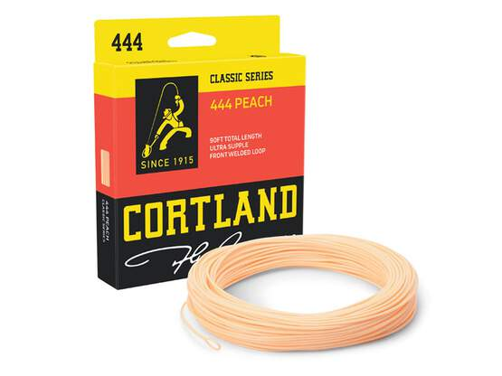 Fly line floating cortland 444 PEACH - DT