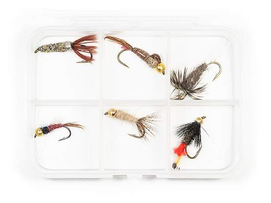 Selection BRASS BEAD HEAD NYMPHS CLASSIC V5 - 6 flies...