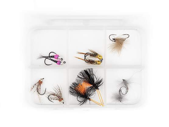 Flies selection hotfly TROUT ESSENTIAL BL - 12 barbless...