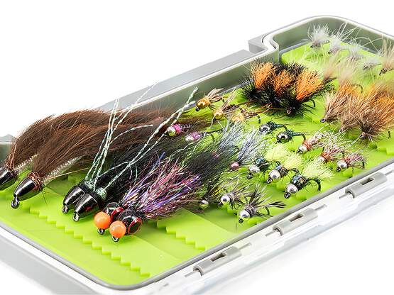 Flies selection hotfly TROUT UNIVERSAL BL - 48 barbless...