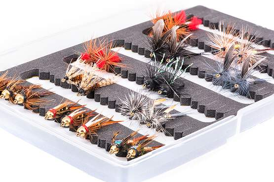 Flies selection GRAYLING STANDARD - 24 flies with box