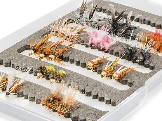 Flies selection GRAYLING STANDARD BL - 24 barbless flies...