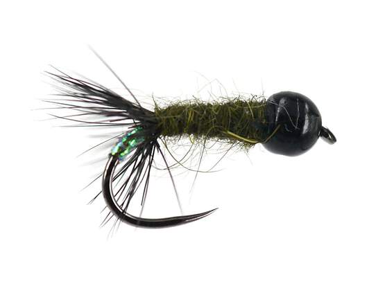 Ales TG Dark Olive  Cased Caddis BL