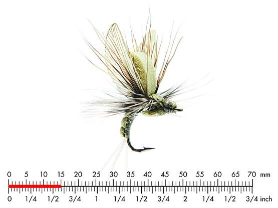 Mayfly Emerger E3 Light Olive 15mm