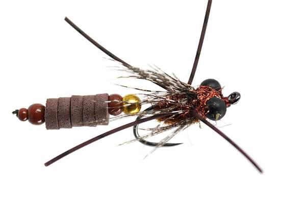 Ales Brown Flexx Dragonfly Nymph