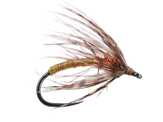 Copper Metallic Soft Hackles Spider BL