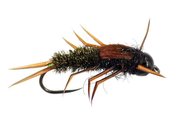 Black Peacock Elite Stonefly Nymph TG BL