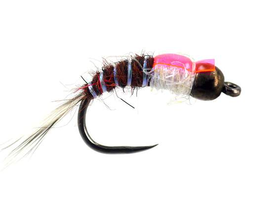 Fly Fishing Flies 12 micro beaded midges size 22 Trout Nymphs Midge