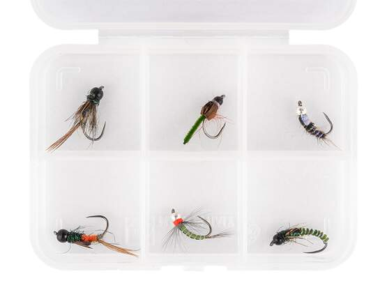 Flies selection hotfly BRASS BEAD NYMPHS ESSENTIAL LTD -...