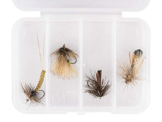 Flies selection hotfly DRY LARGE ESSENTIAL LTD - 4...