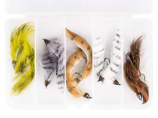 Flies selection hotfly CONEHEAD STREAMER - 10 barbless...