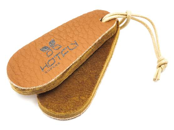 Amadou fly drying patch LEATHER