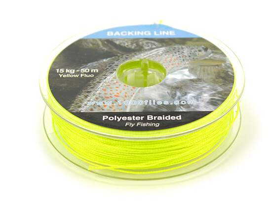 Backingline fluo yellow 30 lb