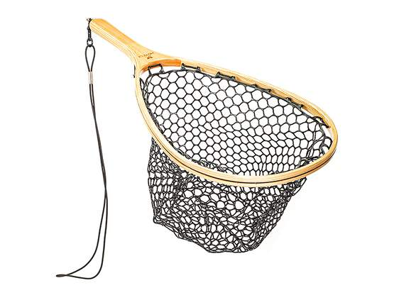 Wooden landing net hotfly superb PROTECT