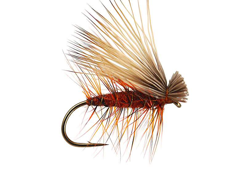 10  Mixed Bloodworm  Barbless Brass Squirmy Worm Grayling Trout Flies Size 12
