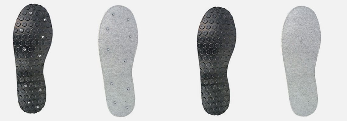 sole types wading boots